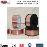 固体溶接ワイヤEr70s-6の銅の上塗を施してある溶接ワイヤ
