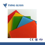 Цветные стекла окраски шелк стекло Patnted стекло стекло для мебели полки или противонагнетательную трубку панели