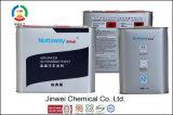 Resistente al aceite de viscosidad de la pintura de bisfenol líquida con calefacción de suelo de resina epoxi