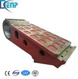 Shanbao Kiefer-Zerkleinerungsmaschine-Ersatzteil-beweglicher Kiefer für Verkauf