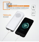 Banco novo da potência de Bluetooth Speaeker da lanterna elétrica do projeto