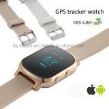 呼出す機能(T58)の大人の個人的なGPSの追跡者の腕時計