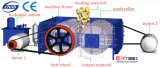 2pg0402PT dobro triturador de rolo alisam/dos coberturas para o minério de transformação da cal de pega rápida metalúrgica