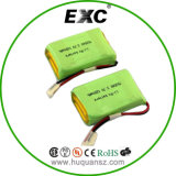 702540 1200mAh 3.7V李ポリマー電池のパック