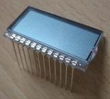 ピンコネクタが付いているTNの灰色カラー反射LCDスクリーン