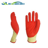 le filé de 10g T/C 5 gants protecteurs de l'amorçage 21s avec le latex a enduit