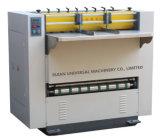 機械(UM-KC1000)に溝を作る紙箱