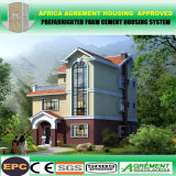 Casa temporal de acero ligera de la casa prefabricada de la construcción de viviendas del EPC Fram