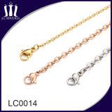 La joyería de alta calidad de los hombres Colgante Collar de Oro.