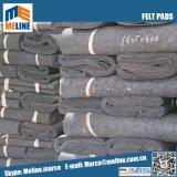 マットレス、安い価格、大きい抗張力のためのポリエステル/Nonによって編まれるフェルトかフェルトのパッド