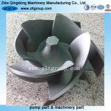 Le moulage au sable/investissement Moulage de pièces de rechange de la pompe en acier inoxydable