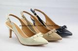 Chaussures femmes classique haut talon sandale avec brillant haut