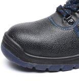 Zapatos de seguridad resistentes a ácidos y álcalis zapatos parte superior de cuero
