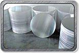 Disco de aluminio / aluminio para Fry Pan (A1050 1,060 1,100 3,003)