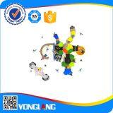 ボディ機械海賊シリーズ屋外の子供のおかしい運動場の一定のプラスチックおもちゃ