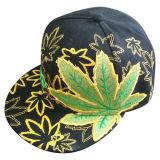 El sombrero caliente de la venta con el hombre hizo el pico de cuero Gj006