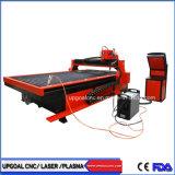 1325 Corte Plasma CNC Máquina de perfuração para 25-30 mm de aço de carbono