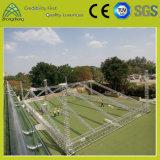 LEIDENE Van de Achtergrond legering van het aluminium het Systeem van de Bundel van de Correcte van de Decoratie Verlichting van het Stadium