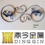 2017熱い販売の装飾的な装飾用の錬鉄
