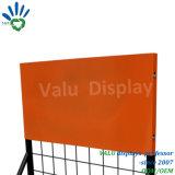 Fußboden-Schmieröl-Ausstellungsstand, Metallauto-Zubehör-Bildschirmanzeige-Zahnstange für Einzelhandelsgeschäft