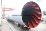 Secador de tambor giratorio de la máquina de secado de los suelos de arcilla, caolín Máquina de secado