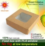 Food Box Packaging avec fenêtre Antifogging (K133)
