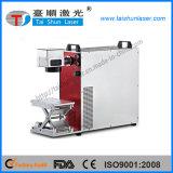 Machine de fibre optique d'inscription de laser pour 100mmx100mm de plaque métallique