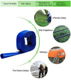 El PVC quedar plana la manguera de descarga de agua, bomba de agua / tubos de riego