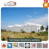 tenda industriale del magazzino provvisorio di larghezza di 20m con la parete dura da vendere