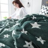 Diferentes padrões de estilo moderno roupa de cama macia flanela de Ajuste