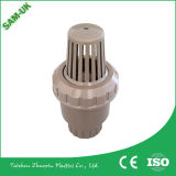 Válvula de pie plástica del PVC del pie de la pulgada del 1/2 con el precio bajo de la alta calidad adentro hecho en China