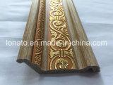 corniche de moulage de couleur de 10 et de 13cm de décoration en bois de picoseconde