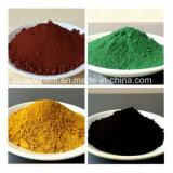 Het Oxyde Fe2o3 van het ijzer in Rood/Blauw/Bruin/Organe/Zwarte/Groene Kleur voor Ceramisch Pigment, Deklaag, het Schilderen de Prijs van de Fabriek