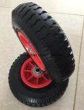 عجلة هوائيّة قابل للنفخ مطّاطة مع حافّة بلاستيكيّة 8 بوصة