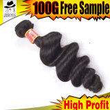卸し売り安い等級9Aのブラジルの人間の毛髪