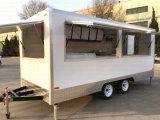 Carrinhos e trailers de concessão de restauração