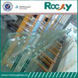 Fuerte de alta calidad de vidrio laminado templado para escaleras y cercar