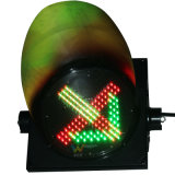 Toll Station Stop Go Guidance LED Traffic Signal Light