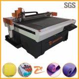 O tapete do ginásio es máquina de corte da faca CNC 1214