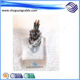 El cable de transmisión de Multi-Core/0.6/1kv/Cu/XLPE/Swa/PVC fabrica