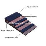 Gummiförderbandep-Förderband mit Textilkarkasse 2mm-15mm der Falte-2-6