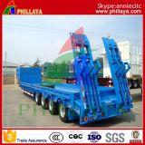 4つの車軸80トンの重い輸送の低いベッドのトレーラー