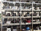 Automobile dell'elevatore idraulico che fa scorrere il sistema di parcheggio dell'automobile automatizzato puzzle astuto