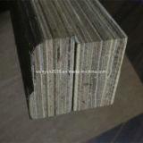 Madera contrachapada impermeable del suelo del envase de la chapa de Reco Gurjan Keruing del pegamento de WBP