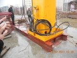 asta di collocazione concreta della torretta di 29m 33m con la colonna di 22.7m ed il sistema di sollevamento idraulico automatico
