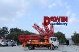 Pequena e média alta qualidade caminhão bomba de concreto com a ISO e a marcação! Vendas quente!