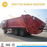 De Vuilnisauto van de Vrachtwagen van het Kompres van het Huisvuil van Sinotruk HOWO met 3 Assen