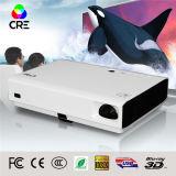 DLP LED Laser Mini projetor de TV de TV portátil