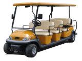 Carro clássico elétrico da excursão com Ce para o turista