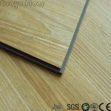 Pavimentazione di plastica della plancia del vinile della pavimentazione dell'orologio di legno durevole di scatto